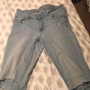 Old Navy Rockstar jeans size 8 regular